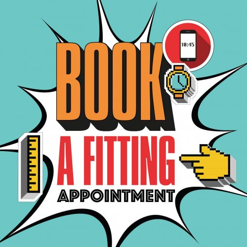Book an in-store fitting appointment
